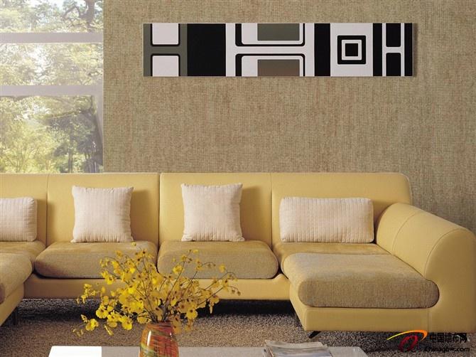 复古深色欧式风格 宝圣墙布效果图