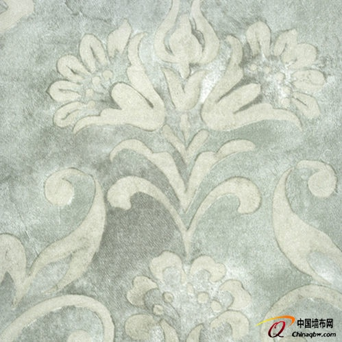 布兰森无纺布墙纸 大气的花型_产品图片_中国墙布网
