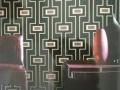 现代元素I 绒面墙纸 现代简约自粘墙纸