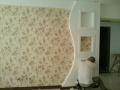 专业供应无缝刺绣壁布 (2)