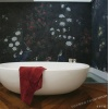 手工墙布 居室真丝壁纸 定制大幅图案画 不变色 色彩防水