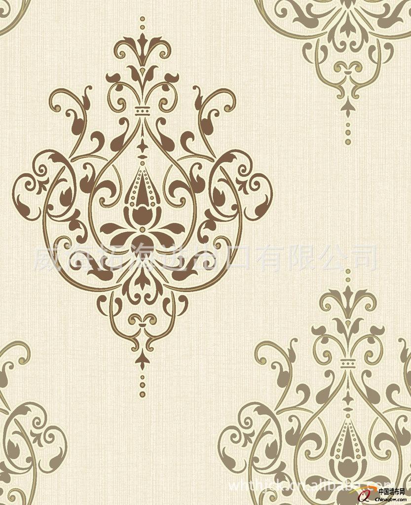 欧式装修壁纸高贵典雅75477