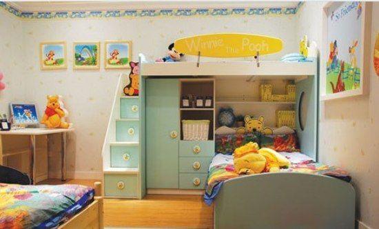 迪士尼儿童房装修效果图 让孩子梦在童话