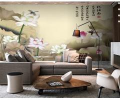 大型宽幅壁画背景墙