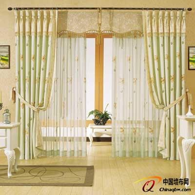 2014客厅窗帘装修效果图