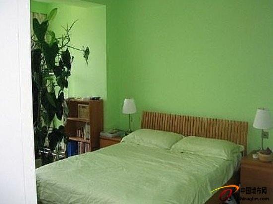 墨绿色欧式墙布