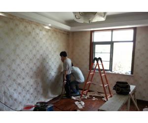 白璧无缝墙布家装实景图赏析 (3)