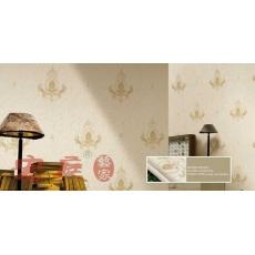 装饰建材刺绣墙布 环保 宏庭品牌 簪花仕女 名品星绣 无缝的