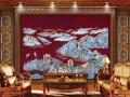 中国墙布十大品牌-威士邦墙布高端独绣刺绣新装上市