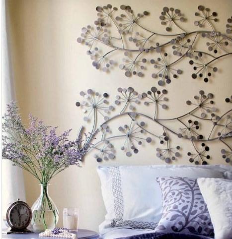 卧室床头电视背景墙布 墙布装饰