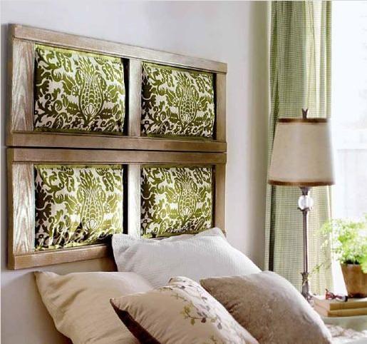 卧室床头电视背景墙布