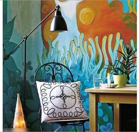 墙面另类装修:把涂鸦带进家居生活