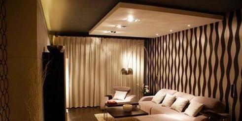 墙布装修很赞吧!-各式风格房屋墙面室内设计效果图展示